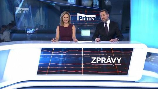 Terezie Tománková a Tomáš Hauptvogel končí ve Velkých zprávách na Primě.
