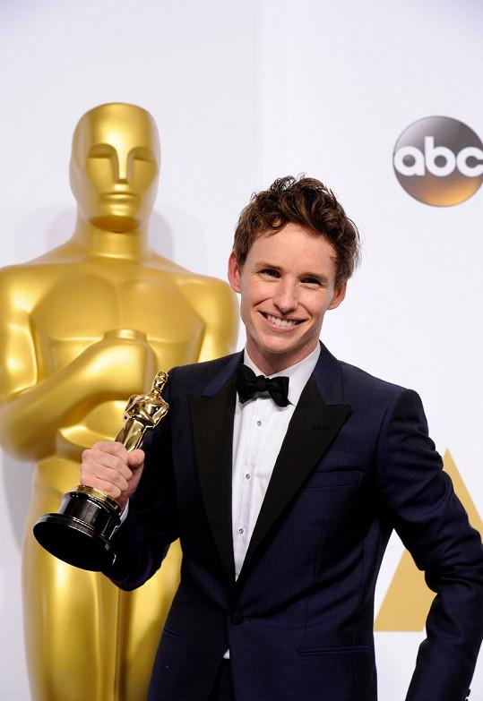 Novopečený držitel Oscara má před sebou další hereckou výzvu.