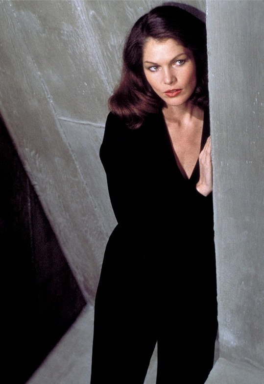 Lois Chiles v roli Bond girl Holly Goodhead