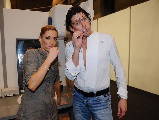 Martin Procházka s Tereza Bufková šli do finále s vyčištěnými zuby.