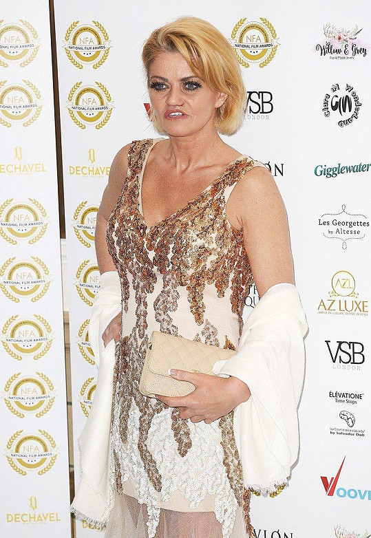 Danniella Westbrook přišla na udílení National Film Awards.