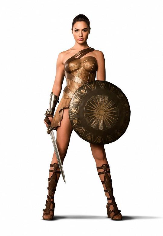 Jako superhrdinka Wonder Woman