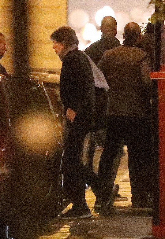 Mick Jagger vyrazil v Paříži na rande.