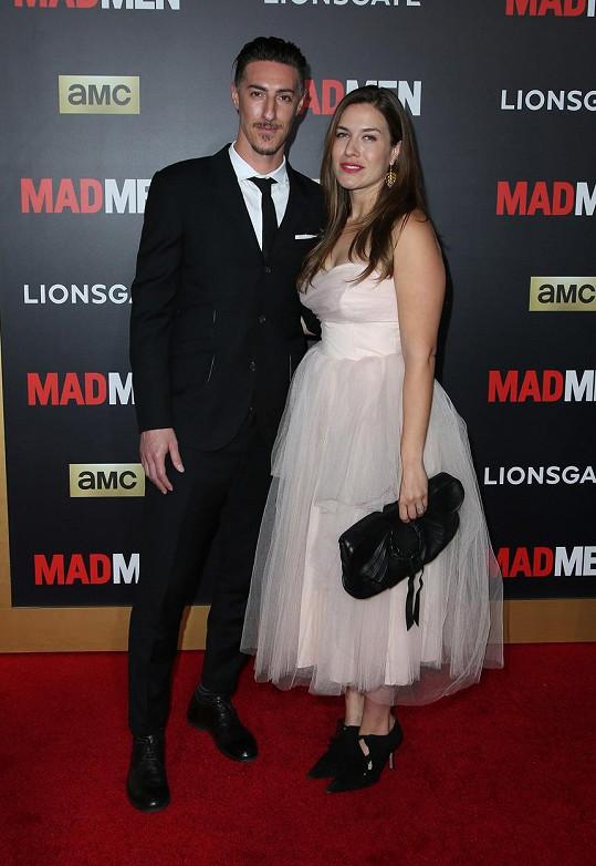 Eric Balfour s manželkou Erin Chiamulion