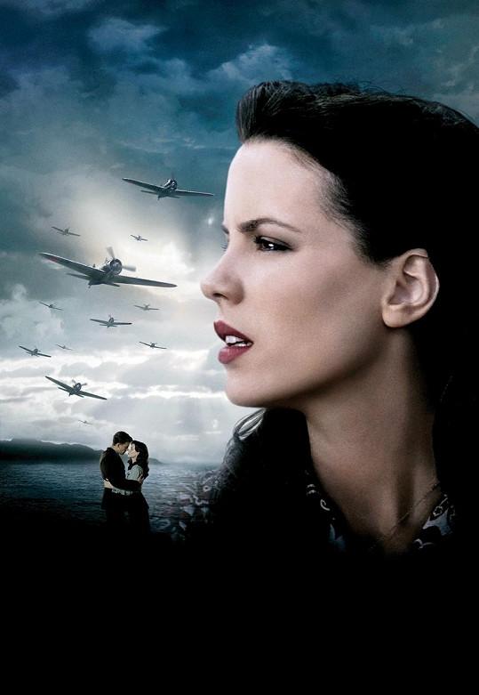 Kate Beckinsale se proslavila díky velkofilmu Pearl Harbor.
