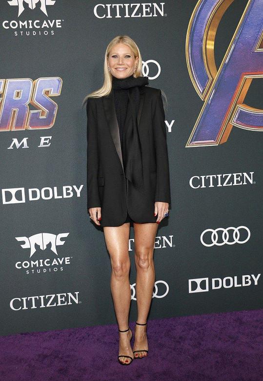 Stejně tak Gwyneth Paltrow