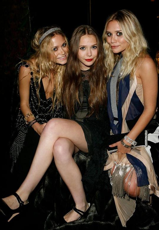 Se slavnými sestrami, dvojčaty Mary-Kate a Ashley