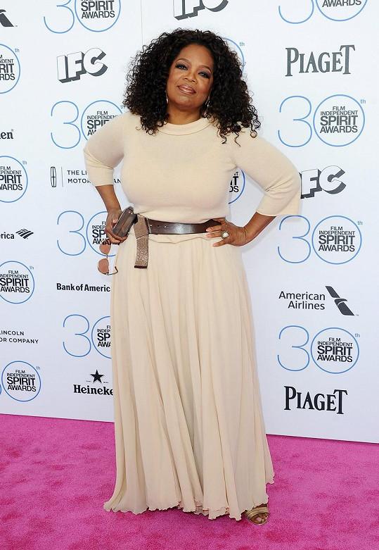 Oprah ještě před rokem...