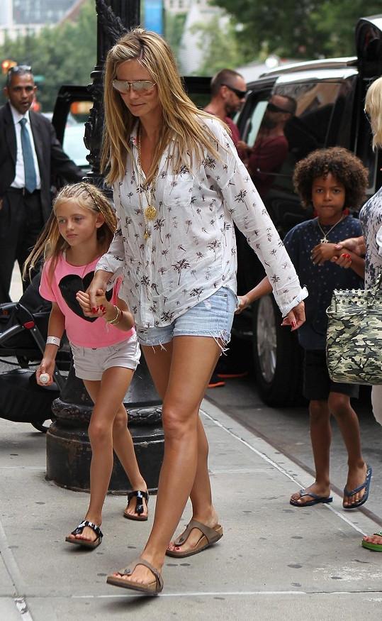 Heidi s dětmi