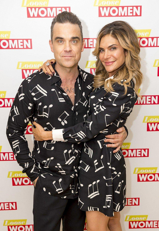 Robbie Williams & Ayda Field Williams