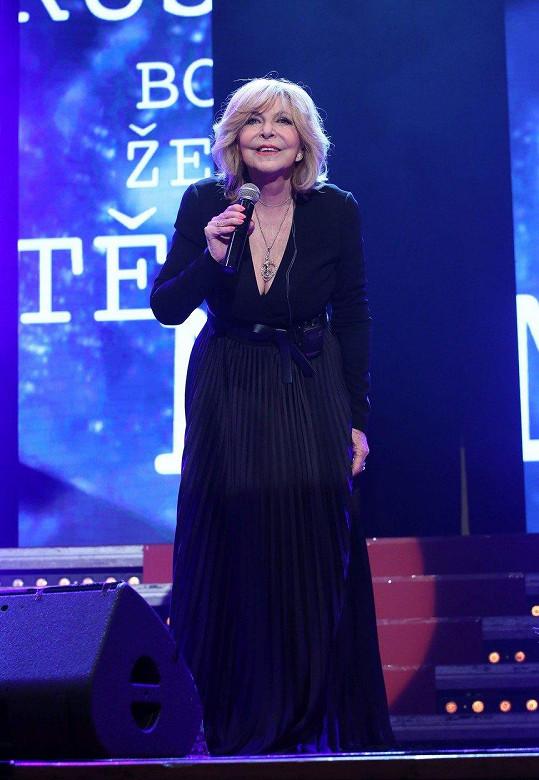 Hana Zagorová zazpívala všechny své velké hity.