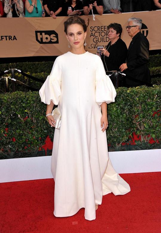 Natalie Portman na nedávném udílení SAG Awards