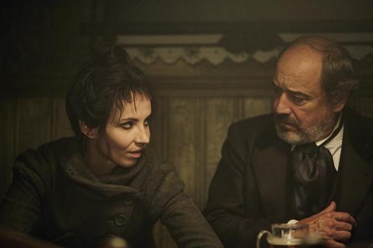 Viktor Preiss s Janou Plodkovou jako zlou sudičkou