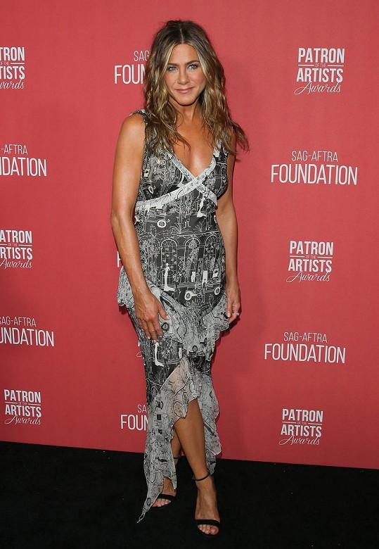 Jennifer má úžasnou figuru.