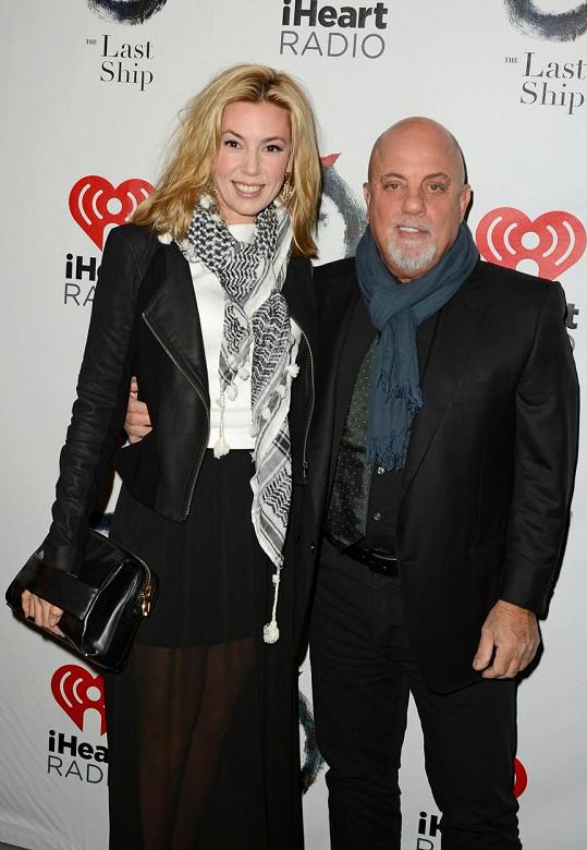 Billy Joel se svou novou manželkou Alexis Roderick