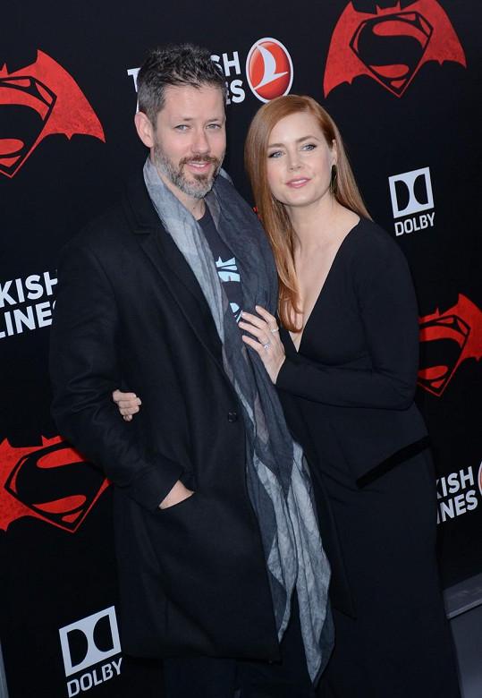 Amy Adams s manželem