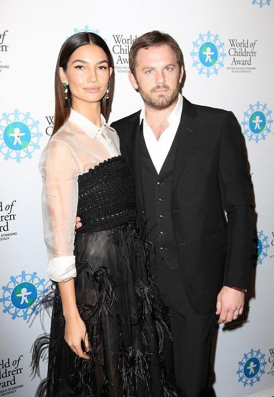 S manželem Calebem Followillem