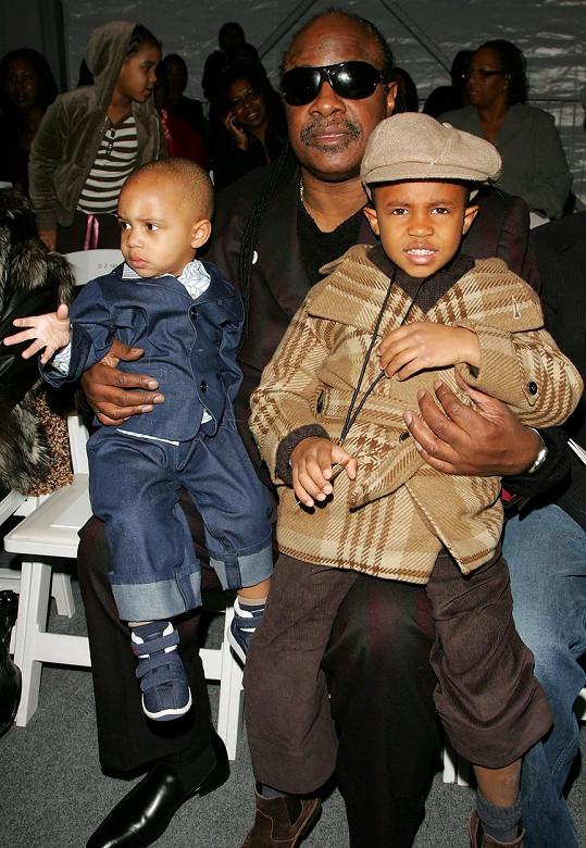 Stevie Wonder už má devět dětí.