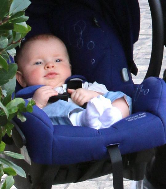 Kelsey Gabriel je nejmladším z hercových šesti potomků.