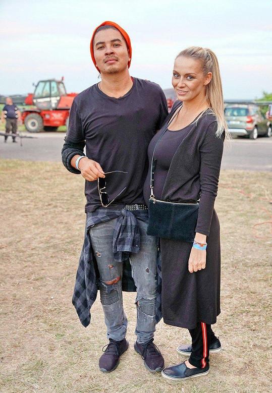 Martina s partnerem Marcusem