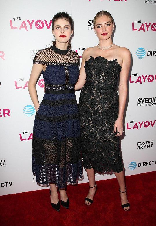 Kate Upton s Alexandrou Daddario