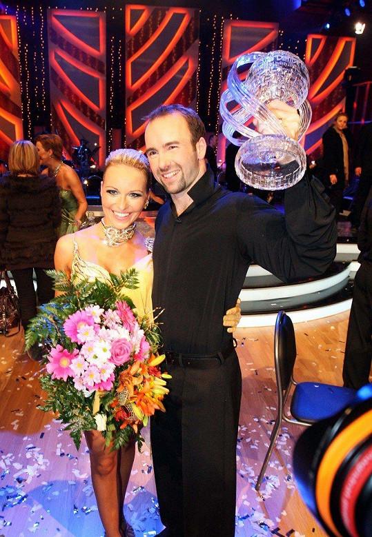 Vítězové druhé řady - Aleš Valenta a Iva Langerová