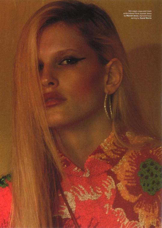 Česká modelka z Kojetína má perfektně nastartovanou kariéru.