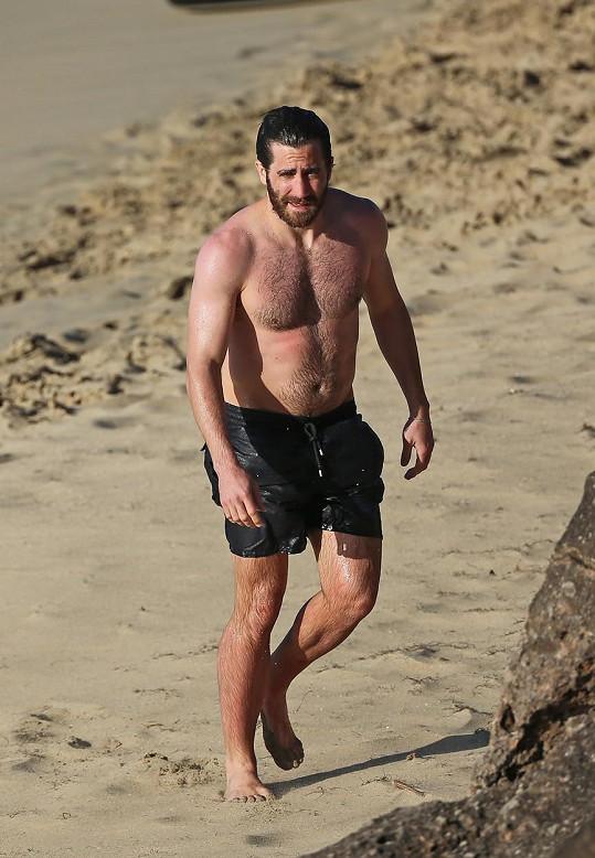 Jake Gyllenhaal ukázal své namakané tělo.