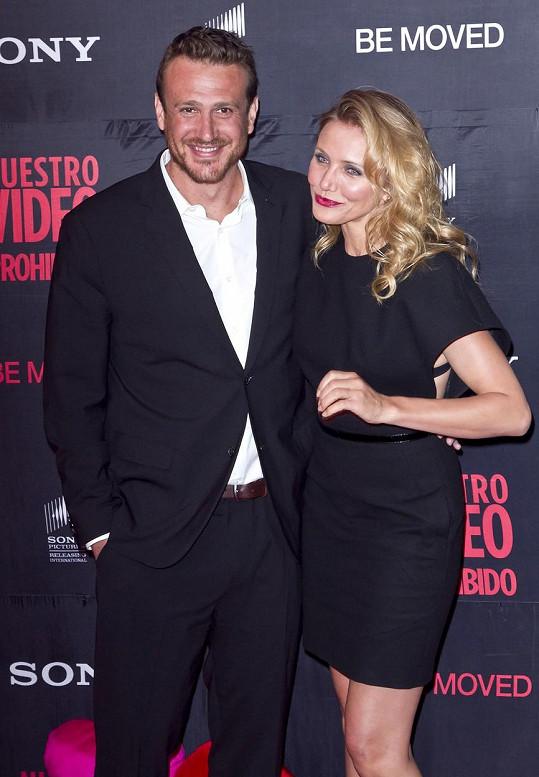 S Cameron Diaz natočil herec komedii Sex Tape.