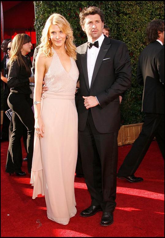 A Patrick Dempsey se rozvedl s Jillian Fink.