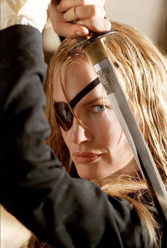 Zazářila i v obou dílech Kill Bill.