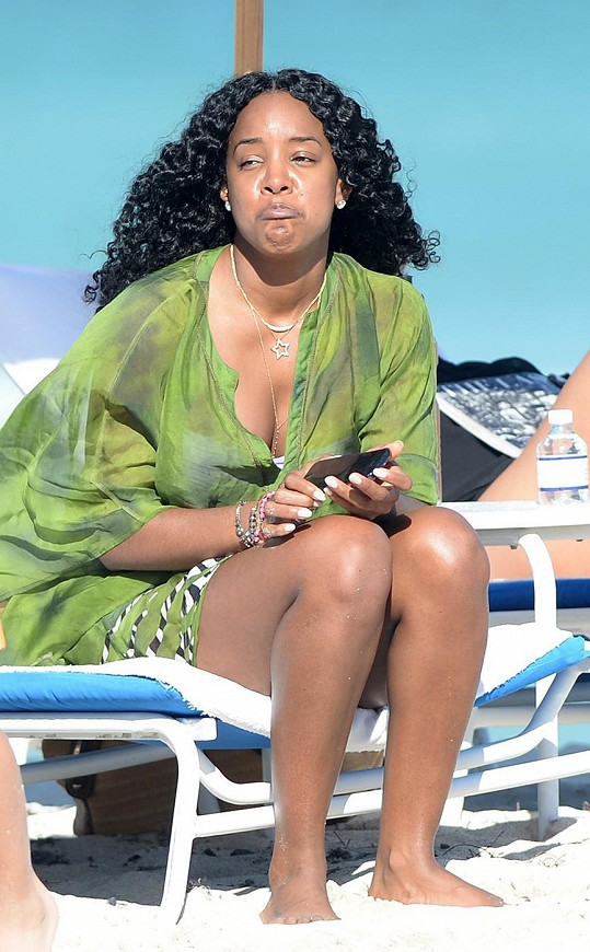 Bývalá členka Destiny's Child se nechtěla fotit.