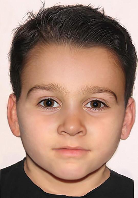 Podoba chlapce podle předpovědi forenzního umělce Joeho Mullinse