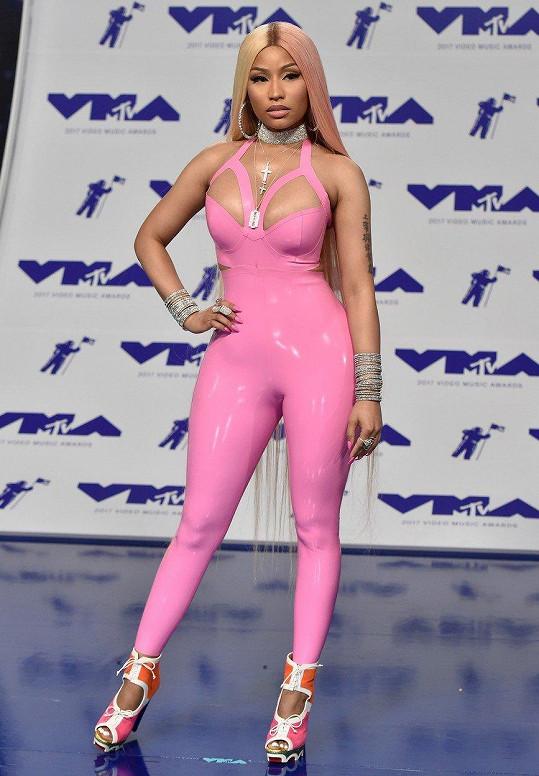 Takhle se Nicki Minaj vyparádila na udílení MTV Video Music Awards