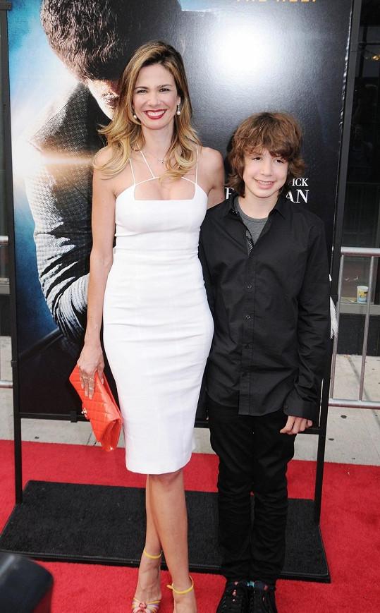 Lucas s matkou Lucianou Gimenez