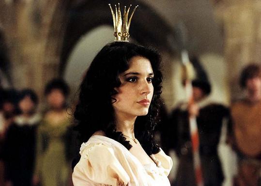 Herečka ve své nejznámější roli jako princezna Jasněnka