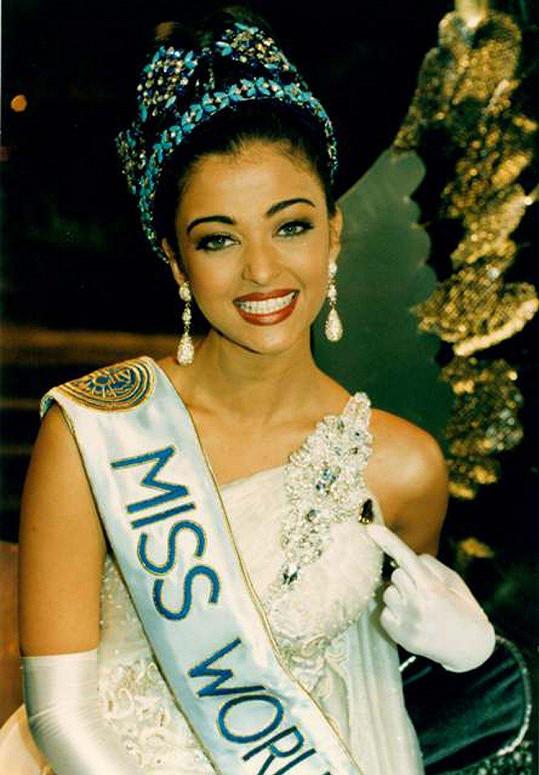 Aishwarya získala v roce 1994 titul Miss World.