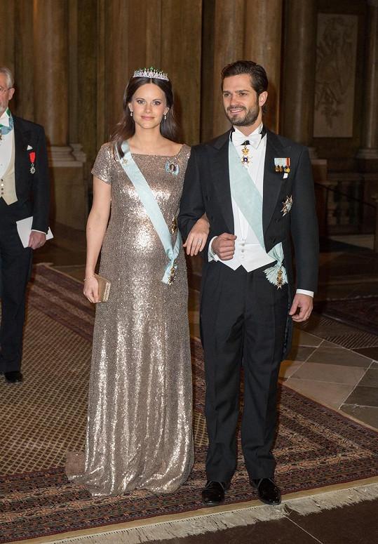 Sofia s manželem Carlem Philipem
