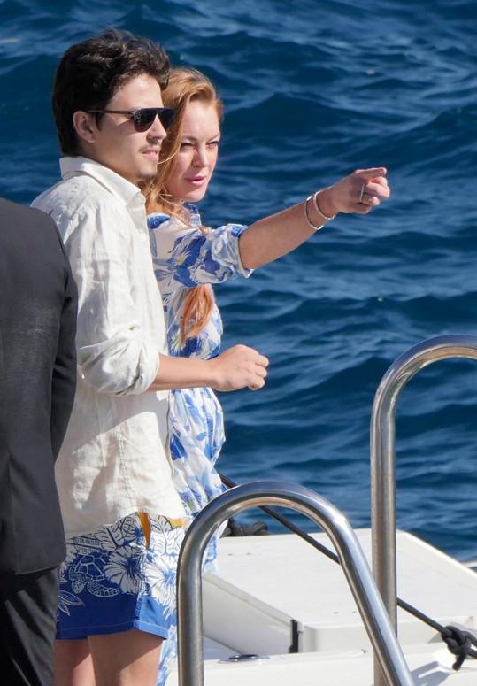 Lindsay a Egor v Cannes