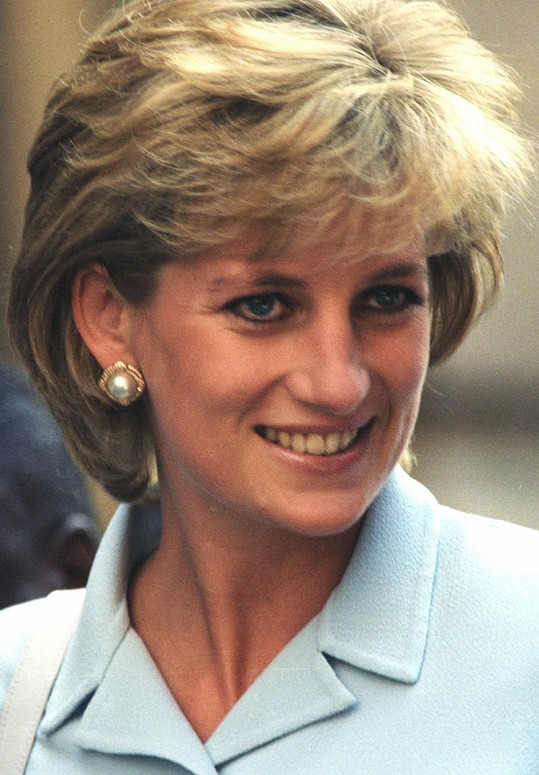 Princezna Diana v roce 1997