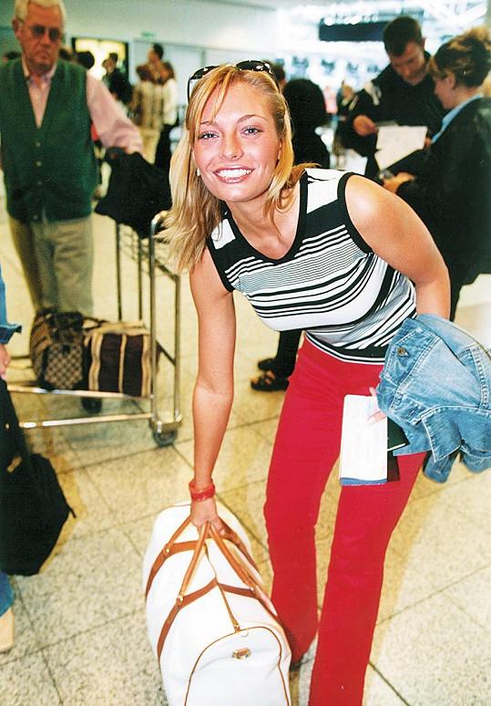 Lucie Borhyová v roce 2001