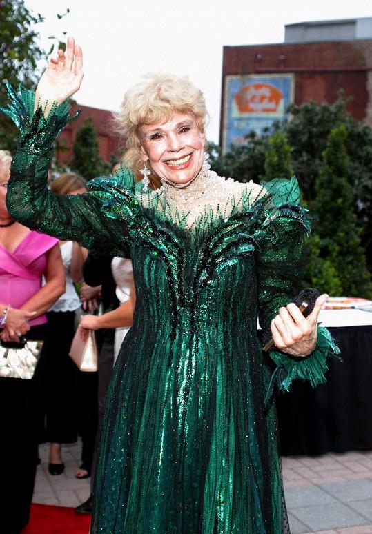Betsy Palmer na snímku z roku 2005