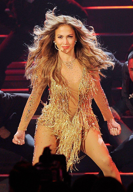 Jennifer Lopez na American Music Awards 2011