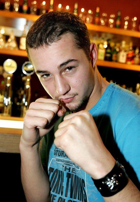 Sámer Issa v roce 2006. Už tehdy neměl moc vlasů.