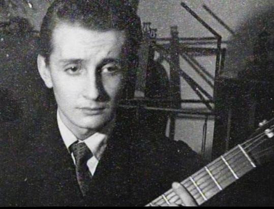 Eduard Hrubeš v dobách, kdy ještě neměl vousy.
