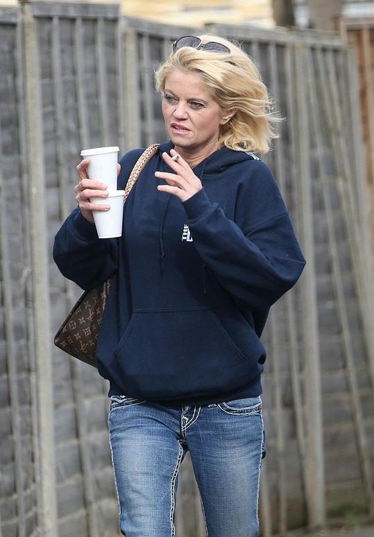 Danniella Westbrook obvinila z napadení bývalého snoubence.
