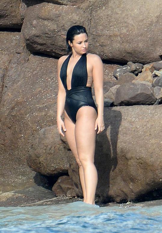 Demi Lovato je v perfektní formě.
