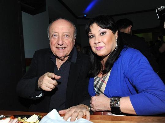 Na párty nechyběla ani Dáda Patrasová s Felixem Slováčkem.
