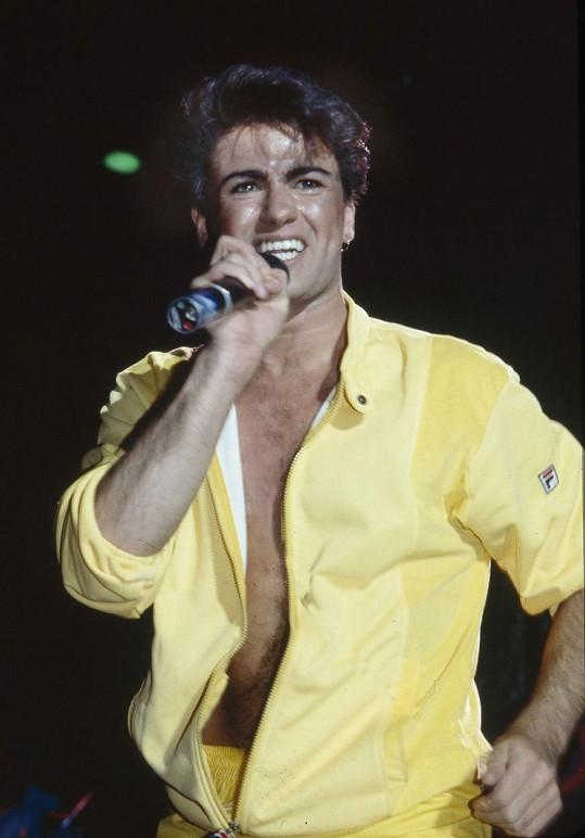George Michael v době největší slávy kapely Wham!