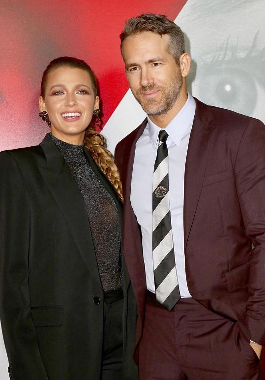 S Ryanem Reynoldsem jsou už trojnásobnými rodiči.